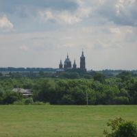 Мордово - Грачев луг, вид на церковь, Мордово