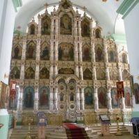 Церковь_Михаила_Архангела_фарфоровый иконостас, Мордово