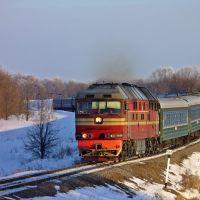 пассажирский поезд, Мордово
