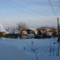 вид на Троицкий собор с улицы Крылова, Моршанск