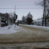 Lotikova-Pushkina crossroad, Моршанск