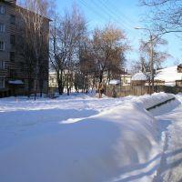 Проходной двор 33-35 зимой, Моршанск