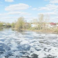 Вид с плотины, Моршанск