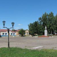 PICHAYEVO, central square. ПИЧАЕВО, центральная площадь., Пичаево
