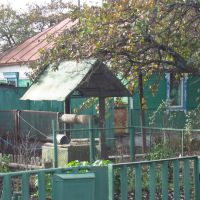 Private well in a garden, Рассказово