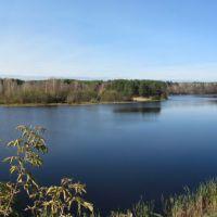 Panorama of Rasskazovo Pond, Рассказово