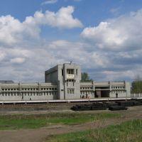 Rzhaksa  railway station. Вокзал в Ржаксе., Ржакса