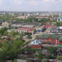 TAMBOV. Panorama. (Панорама Тамбова с крыши высотного здания)., Тамбов