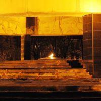 Мемориал ночью (Тамбов), Тамбов