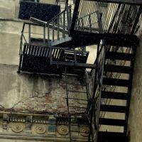 Пожарная лестница драмтеатра (Тамбов), Тамбов
