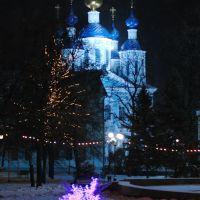 Ночной снегопад (Тамбов), Тамбов