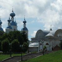 Россия, Тамбов, Набережная, вид на Казанский собор, Тамбов