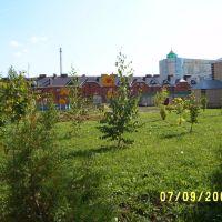 Школьный двор., Альметьевск