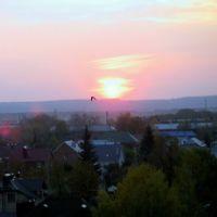 sunset in Almetyevsk, Альметьевск
