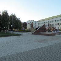 Площадь памяти в г. Агрыз., Агрыз