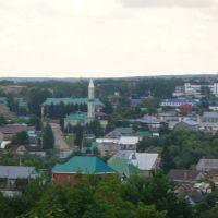 Вид с кладбища, Азнакаево