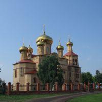 Поселок Алексеевское, Храм Воскресения Христова, Алексеевское
