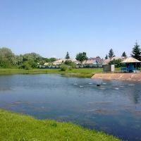 Очередной святой источник. Ахтырский колодей и озеро около него. РТ, Алексеевское. Июнь 2013, Алексеевское