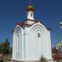 Часовня на территории церкви Воскресения Христова, п.г.т. Алексеевское, 1996-2008 гг., Алексеевское