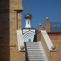 Вид на часовню, церковь Воскресения Христова, п.г.т. Алексеевское, 1996-2008 гг., Алексеевское