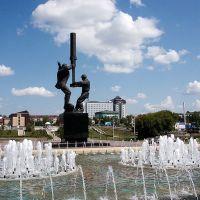 Памятник нефтяникам в Альметьевске, Альметьевск
