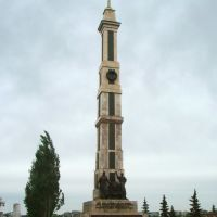 Monument in park of Victory, Апастово