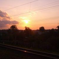 Sunset around Kazan, Апастово