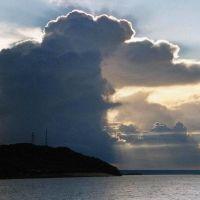гроза над Волгой / thunderstorm in the Volga, Апастово