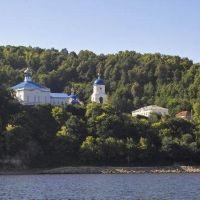 Макарьев монастырь близ Свияжска / Makarev monastery near Sviyazhsk, Апастово