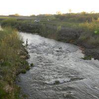 река Казанка, вид с моста, Арск