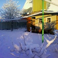Сарай зимой, Бавлы