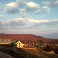 Вид с холма на город, Бавлы