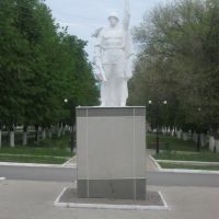 Бавлы. Памятник Войну-Освободителю, Бавлы