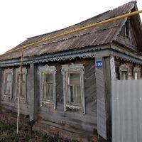 Старый, старый дом. Bazarnyye Mataki, Tatarstan (Russia), Базарные Матаки