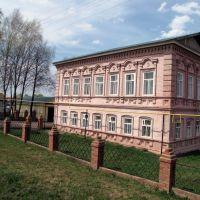 Здание музея. Bazarnyye Mataki, Tatarstan (Russia), Базарные Матаки