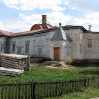 Церковь. Восстановление. Bazarnyye Mataki, Tatarstan (Russia), Базарные Матаки