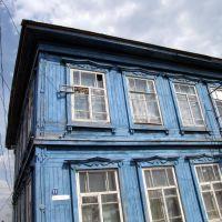 Здание бывшей школы. Bazarnyye Mataki, Tatarstan (Russia), Базарные Матаки