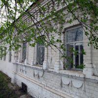 Здание почты. Bazarnyye Mataki, Tatarstan (Russia), Базарные Матаки