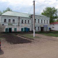 Старый купеческий дом. Bazarnyye Mataki, Tatarstan (Russia), Базарные Матаки