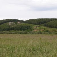 Hills near Baltasi, Балтаси