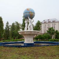 Funny fountain, Брежнев