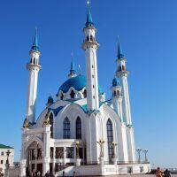 Казань. Кремль. Мечеть Кул-Шариф.  Kazan. The Kreml. Qolsharif Mosque, Брежнев