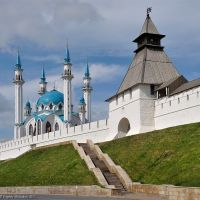 Kazan Kremlin and mosque Kul-Sharif. Kazan, 2012., Брежнев