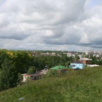 вид с Сокольской горы, Бугульма