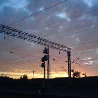 Sundown, Russia, Tatarstan, Васильево