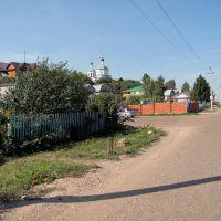 Улица. Верхний Услон.  Verkhiy Uslon, Tatarstan (Russia), Верхний Услон