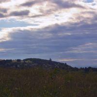 Вид с Услонской горы на Печищи, Верхний Услон