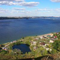 Озеро рядом р.Волга., Верхний Услон