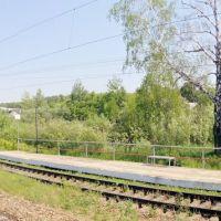 Железнодорожная платформа Высокая гора / Railway platform Vysokaya gora., Высокая Гора
