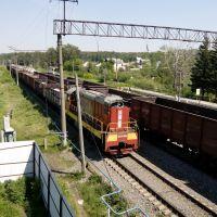 Маневровый тепловоз / Shunting Locomotive., Высокая Гора